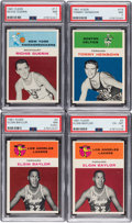 Basketball Cards:Lots, 1961 Fleer Basketball Collection (62). ...