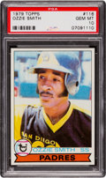 Baseball Cards:Singles (1970-Now), 1979 Topps Ozzie Smith #116 PSA Gem Mint 10 - Pop Five....