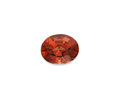 Gems:Faceted, Gemstone: Malaya Garnet - 5.71 Cts.. Kenya. ...