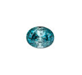 Gems:Faceted, Gemstone: Blue Zircon - 11.85 Cts.. Cambodia. ...