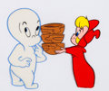 Animation Art:Production Cel, The New Casper Cartoon Show Casper and Wendy Production CelSetup and Animation Drawing Group (Harveytoons/Paramount, ...(Total: 4 )