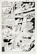 Original Comic Art:Panel Pages, Curt Swan and Larry Mahlstedt and Tom Yeates Superman #422 Page 9 Original Art (DC Comics, 1986)....
