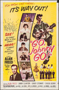 """Movie Posters:Rock and Roll, Go, Johnny, Go! (Hal Roach, 1959). One Sheet (27"""" X 41""""). Rock andRoll.. ..."""