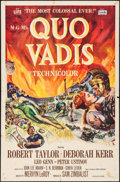 "Movie Posters:Historical Drama, Quo Vadis (MGM, 1951/R-1964). One Sheets (2) (27"" X 41"").Historical Drama.. ... (Total: 2 Items)"