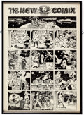 Memorabilia:Poster, Robert Crumb, Victor Moscoso and Others The New Comix Poster(Phoenix Gallery of Berkeley, CA, 1969)....