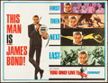 """Movie Posters:James Bond, You Only Live Twice (United Artists, 1967). Subway (45"""" X 59""""). James Bond.. ..."""
