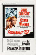 """Movie Posters:Science Fiction, Fahrenheit 451 (Universal, 1967). One Sheet (27"""" X 41""""). ScienceFiction.. ..."""