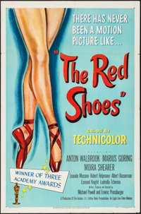 "The Red Shoes (Eagle Lion, 1948). One Sheet (27"" X 41""). Fantasy"