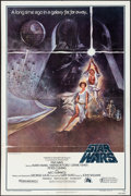 "Movie Posters:Science Fiction, Star Wars (20th Century Fox, 1977). Third Printing One Sheet (27"" X41"") Style A. Science Fiction.. ..."