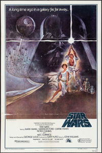 "Star Wars (20th Century Fox, 1977). Third Printing One Sheet (27"" X 41"") Style A. Science Fiction"