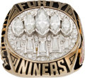 Football Collectibles:Others, 1994 San Francisco 49ers Super Bowl XXIX Championship Ring Presented to Broadcaster Wayne Walker....