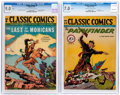 Golden Age (1938-1955):Classics Illustrated, Classic Comics #4 and 22 CGC-Graded Group (Gilberton, 1944-46).... (Total: 2 Comic Books)