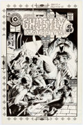 Original Comic Art:Covers, Don Newton Ghostly Haunts #42 Cover Original Art (Charlton, 1975)....