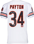 Football Collectibles:Uniforms, 1990's Walter Payton Signed Chicago Bears Jersey with Six Inscriptions.. ...