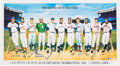 Baseball Collectibles:Others, 1988 500 Home Run Hitters Multi-Signed Lithograph. ...