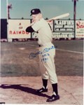 """Baseball Collectibles:Photos, 1990's Mickey Mantle """"No. 6 1951"""" Signed Oversized Photograph. ..."""