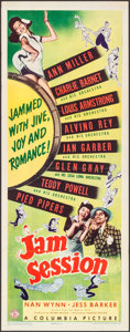 """Movie Posters:Musical, Jam Session (Columbia, 1944). Insert (14"""" X 36""""). Musical.. ..."""
