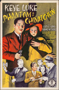 "Movie Posters:Crime, Phantom of Chinatown (Monogram, 1940). One Sheet (27"" X 41"").Crime.. ..."