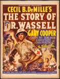 """Movie Posters:War, The Story of Dr. Wassell (Paramount, 1944). Trimmed Window Card(14"""" X 18.75""""). War.. ..."""