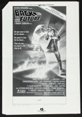 "Movie Posters:Science Fiction, Back to the Future (Universal, 1985). Uncut Pressbook (7 Pages, 12"" X 18"") & Ad Supplement (6 Pages, 12"" X 18""). Science Fic... (Total: 2 Items)"