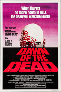 """Dawn of the Dead (United Film Distribution, 1978). One Sheet (27"""" X 41""""). Horror"""