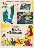 "Movie Posters:Animation, The Sword in the Stone (Dipenfa,1965). Spanish One Sheet (27"" X 40""). Animation.. ..."