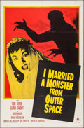 "Movie Posters:Science Fiction, I Married a Monster from Outer Space (Paramount, 1958). One Sheet (27"" X 41""). Science Fiction.. ..."