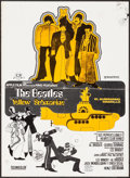 """Movie Posters:Animation, Yellow Submarine (CB Films, R-1970s) Fine+. Spanish Poster (14.5"""" X 20""""). Animation.. ..."""