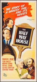 "Movie Posters:Mystery, The Halfway House (BEF, 1944). Australian Daybill (13"" X 30"").Mystery.. ..."