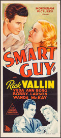 "Movie Posters:Drama, Smart Guy (B.E.F., 1943). Australian Daybill (13"" X 30""). Drama....."