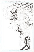 Original Comic Art:Splash Pages, Joe Bennett and Art Thibert Deathstroke V2#7 Splash Page 20Original Art (DC, 2012)....