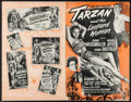 "Movie Posters:Adventure, Tarzan and the Leopard Woman & Other Lot (RKO, 1946). UncutPressbooks (2) (Multiple Pages, 11"" X 17"" & 12"" X 18"").Adventur... (Total: 2 Items)"