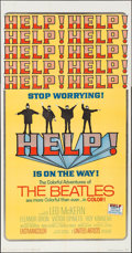 "Movie Posters:Rock and Roll, Help! (United Artists, 1965). Three Sheet (41"" X 79""). Rock andRoll.. ..."
