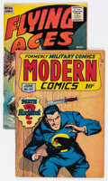 Golden Age (1938-1955):Miscellaneous, Golden Age Miscellaneous Comics Group of 2 (Various Publishers, 1946-55).... (Total: 2 Comic Books)