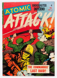 Atomic Attack #7 (Youthful Magazines, 1953) Condition: VF+