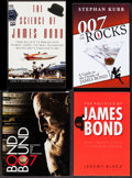"Movie Posters:James Bond, Bond Bound & Others Lot (Fleming-Wyfold Art Foundation, 2008).Autographed Paperback Book (166 Pages, 7.25"" X 9""), &Paperba... (Total: 4 Items)"