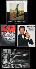 "Movie Posters:James Bond, James Bond Book Lot (Various, 1996-2012). Autographed Hardcover Book (200 Pages, 8.75"" X 10.75"") & Hardcover Books (3) (Mult... (Total: 4 Items)"