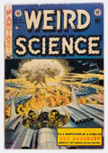 Golden Age (1938-1955):Science Fiction, Weird Science #18 (EC, 1953) Condition: VG....