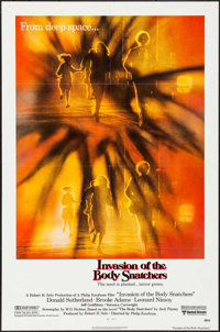 """Invasion of the Body Snatchers (United Artists, 1978). One Sheet (27"""" X 41""""), Mini Lobby Card Set of 8 (8""""..."""