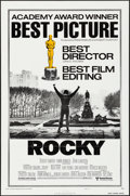 "Movie Posters:Academy Award Winners, Rocky (United Artists, 1977). One Sheet (27"" X 41""). Academy AwardStyle. Sports.. ..."