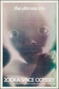 """Movie Posters:Science Fiction, 2001: A Space Odyssey (MGM, 1971). Flat Folded One Sheet (27"""" X41""""). Science Fiction.. ..."""