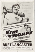 """Movie Posters:Sports, Jim Thorpe - All American (Warner Brothers, R-1957). One Sheet (27"""" X 41""""). Sports.. ..."""