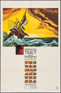 "Movie Posters:Adventure, The Old Man and the Sea (Warner Brothers, 1958). One Sheet (27"" X40.5""). Adventure.. ..."