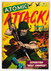 Atomic Attack #8 (Youthful Magazines, 1953) Condition: VF-