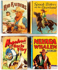Big Little Book Group of 17 (Whitman, 1930s) Condition: Average VG.... (Total: 17 Comic Books)