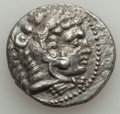 Ancients:Greek, Ancients: MACEDONIAN KINGDOM. Alexander III the Great (336-323 BC).AR tetradrachm (16.27 gm). About XF, porosity....