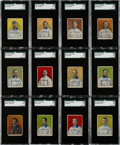Baseball Cards:Sets, 1910 D322 Tip-Top Bread Pittsburgh Pirates SGC-Graded Near Set(20/25). ...