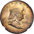 Franklin Half Dollars, 1952-D 50C MS67 Full Bell Lines NGC. CAC....