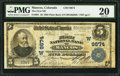 National Bank Notes:Colorado, Mancos, CO - $5 1902 Plain Back Fr. 601 The First NB Ch. # (W)9674....