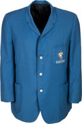 Football Collectibles:Uniforms, 1960's Bud Adams Worn Houston Oilers Owner's Jacket....